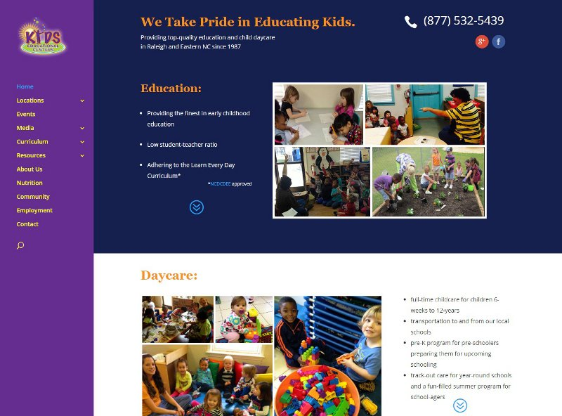 kidseducationalcenter.com website